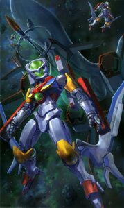 Rating: Safe Score: 5 Tags: gundam gundam_00 gundam_00:_a_wakening_of_the_trailblazer mecha sakibure User: drop