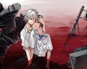 Rating: Safe Score: 16 Tags: ikari_shinji maka_(morphine) male nagisa_kaworu neon_genesis_evangelion User: Riven