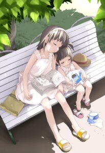 Rating: Safe Score: 7 Tags: dress kikurage_(sijimi-ya_honpo) summer_dress User: Radioactive