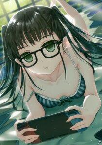 Rating: Questionable Score: 45 Tags: bra megane morizono_shiki pantsu tagme User: kiyoe