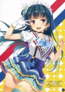 Rating: Safe Score: 33 Tags: dress love_live!_sunshine!! thighhighs tsushima_yoshiko wireframe yuuki_hagure User: abcdefh