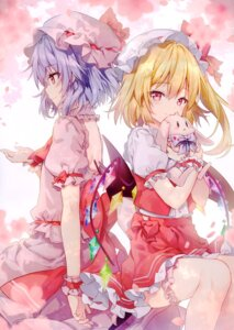 Rating: Questionable Score: 63 Tags: eterna-radiare flandre_scarlet remilia_scarlet riichu touhou User: kiyoe