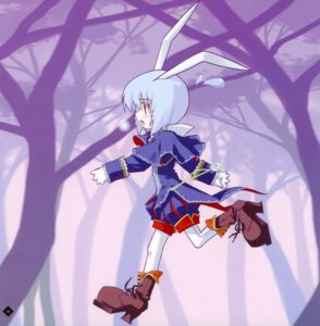 Rating: Safe Score: 10 Tags: alice_in_wonderland animal_ears bunny_ears ice_&_choco kokonobi white_rabbit User: midzki