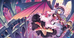 Rating: Safe Score: 40 Tags: dress flandre_scarlet kichiroku remilia_scarlet touhou wings User: Mr_GT