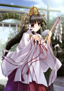 Rating: Safe Score: 45 Tags: kimizuka_aoi miko User: Twinsenzw