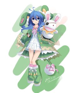 Rating: Safe Score: 30 Tags: date_a_live dress kaizi see_through yoshino_(date_a_live) User: Mr_GT