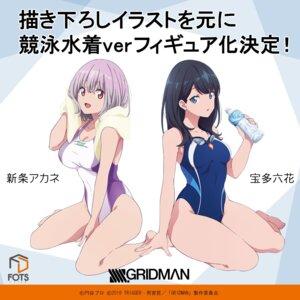Rating: Safe Score: 49 Tags: cleavage shinjou_akane ssss.gridman swimsuits tagme takarada_rikka User: sorafans