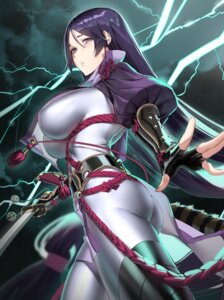 Rating: Safe Score: 8 Tags: armor ass bodysuit fate/grand_order minamoto_no_raikou_(fate/grand_order) sword tagme User: Mr_GT