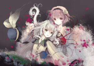 Rating: Safe Score: 21 Tags: komeiji_koishi komeiji_satori ooki_bonta touhou User: blooregardo