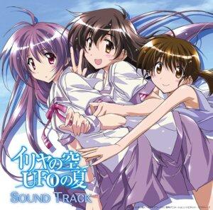 Rating: Safe Score: 12 Tags: asaba_yuko disc_cover iriya_kana iriya_no_sora_ufo_no_natsu kurashima_tomoyasu seifuku sudo_akiho tagme User: saemonnokami
