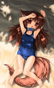 Rating: Questionable Score: 26 Tags: animal_ears loli ohiensis school_swimsuit swimsuits tail User: petopeto