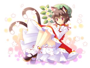 Rating: Safe Score: 24 Tags: bloomers chen clear_moon touhou User: Mr_GT