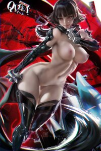 Rating: Explicit Score: 69 Tags: naked niijima_makoto nipples persona_5 pussy sakimichan tagme thighhighs uncensored weapon User: BattlequeenYume