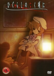 Rating: Safe Score: 15 Tags: disc_cover higurashi_no_naku_koro_ni ryuuguu_rena sakai_kyuuta User: Radioactive