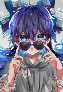 Rating: Safe Score: 22 Tags: megane sketch suzune_hapinesu touhou yorigami_shion User: BattlequeenYume