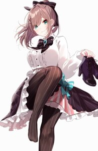 Rating: Safe Score: 11 Tags: feet heels misumi_(macaroni) nijisanji pantyhose skirt_lift User: Mr_GT