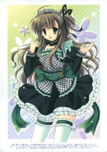 Rating: Safe Score: 34 Tags: cascade hasekura_chiaki lolita_fashion thighhighs User: midzki