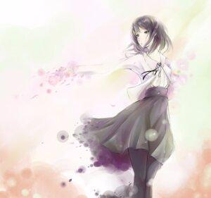 Rating: Safe Score: 8 Tags: flowers kousaka_mayuri pantyhose qjack9 User: saemonnokami
