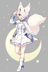 Rating: Safe Score: 39 Tags: animal_ears heels horns phantasy_star_online_2 sakura_chiyo_(konachi000) tail uniform User: Mr_GT