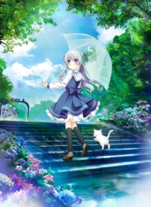 Rating: Safe Score: 24 Tags: entergram gensou_rougoku_no_kaleidoscope heels hinoue_itaru neko seifuku tagme umbrella User: marechal