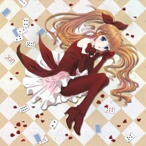 Rating: Safe Score: 21 Tags: dress haneoka_meimi heels kaitou_saint_tail pantyhose User: charunetra