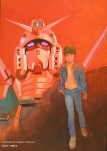 Rating: Safe Score: 8 Tags: amuro_ray gundam male mecha rx-78-2_gundam yasuhiko_yoshikazu User: blooregardo