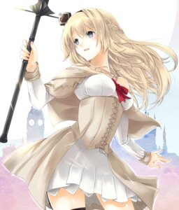 Rating: Safe Score: 42 Tags: dress kakerayuri kantai_collection stockings thighhighs warspite_(kancolle) User: mash