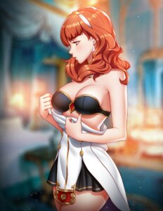 Rating: Safe Score: 27 Tags: bra celica_(fire_emblem) cleavage dress fire_emblem pinkladymage undressing User: charunetra