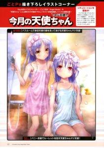 Rating: Questionable Score: 19 Tags: akame_tenshi angel_beats! bathing goto-p loli tenshi towel wet User: drop