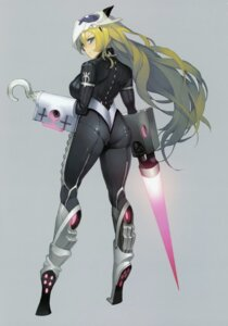 Rating: Questionable Score: 28 Tags: ass bodysuit tagme weapon User: Radioactive