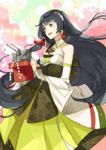 Rating: Safe Score: 12 Tags: cleavage dress kanmiya_shinobu kantai_collection mizuho_(kancolle) User: charunetra