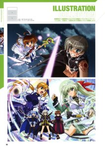 Rating: Safe Score: 8 Tags: einhart_stratos mahou_shoujo_lyrical_nanoha mahou_shoujo_lyrical_nanoha_a's_the_gears_of_destiny material-d material-l material-s takamachi_nanoha tohma_avenir vivio User: drop