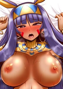 Rating: Questionable Score: 14 Tags: animal_ears breasts fate/grand_order kanno_takanori nipples nitocris_(fate/grand_order) no_bra User: Mr_GT