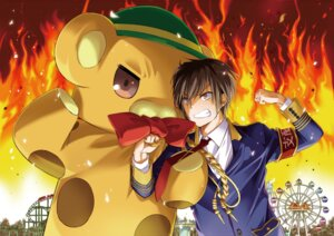 Rating: Questionable Score: 9 Tags: amagi_brilliant_park kanie_seiya moffle nakajima_yuka User: kiyoe