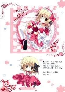 Rating: Safe Score: 25 Tags: chibi dress korie_riko mujin_shoujo tail thighhighs User: Twinsenzw