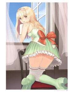 Rating: Questionable Score: 76 Tags: digital_version dress heels thighhighs tony_taka User: Twinsenzw