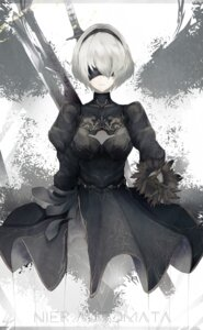 Rating: Safe Score: 62 Tags: dress marumoru nier_automata sword yorha_no.2_type_b User: MurakumoJP