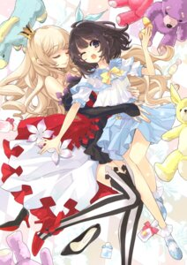 Rating: Safe Score: 56 Tags: dress heels ito_noizi seifuku thighhighs User: Twinsenzw