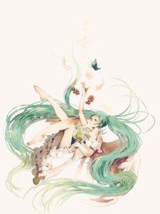 Rating: Questionable Score: 23 Tags: ass danjou_sora dress feet hatsune_miku vocaloid User: charunetra