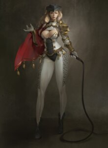 Rating: Safe Score: 23 Tags: armor cleavage midfinger22 no_bra weapon User: saemonnokami