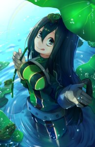 Rating: Safe Score: 31 Tags: asui_tsuyu bodysuit boku_no_hero_academia luo_jie wet User: Mr_GT