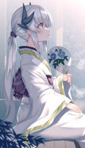 Rating: Safe Score: 34 Tags: fate/grand_order horns kiyohime_(fate/grand_order) morizono_shiki yukata User: BattlequeenYume