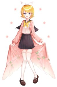 Rating: Safe Score: 22 Tags: kagamine_len see_through seifuku thighhighs vocaloid yeorem User: Arsy