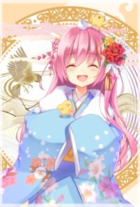 Rating: Safe Score: 39 Tags: amane_mafuyu_(artist) kimono User: Mr_GT