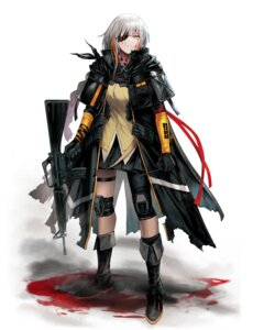 Rating: Safe Score: 16 Tags: blood eyepatch garter girls_frontline gun m16a1_(girls_frontline) nlitz User: Dreista