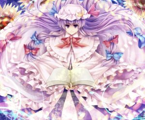 Rating: Safe Score: 14 Tags: hagiwara_rin patchouli_knowledge touhou User: Manabi