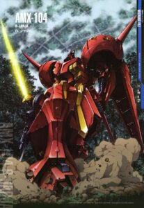 Rating: Safe Score: 11 Tags: abe_shingo gundam gundam_zz mecha sword zeta_gundam User: Radioactive