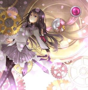 Rating: Safe Score: 20 Tags: akemi_homura pantyhose puella_magi_madoka_magica thighhighs ujou_kazuki User: Nekotsúh
