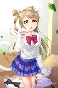 Rating: Safe Score: 30 Tags: animal_ears love_live! minami_kotori seifuku tucana User: Mr_GT
