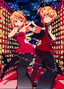 Rating: Safe Score: 14 Tags: dress kagamine_len kagamine_rin marirero_a pantyhose vocaloid User: cheese